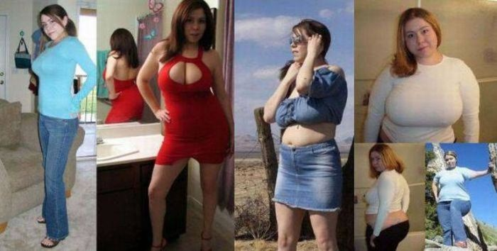 Why Cute Girls Become Fat? (17 pics)