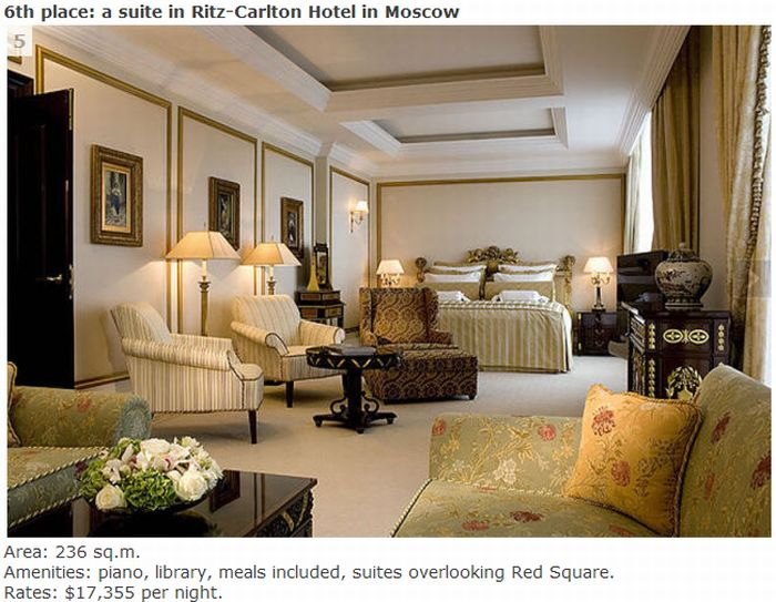 TOP 10 Most Expensive Hotels (10 pics)