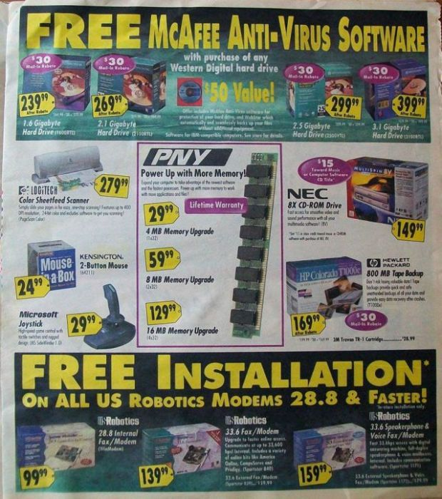 Best Buy Ads From The Past (16 pics)
