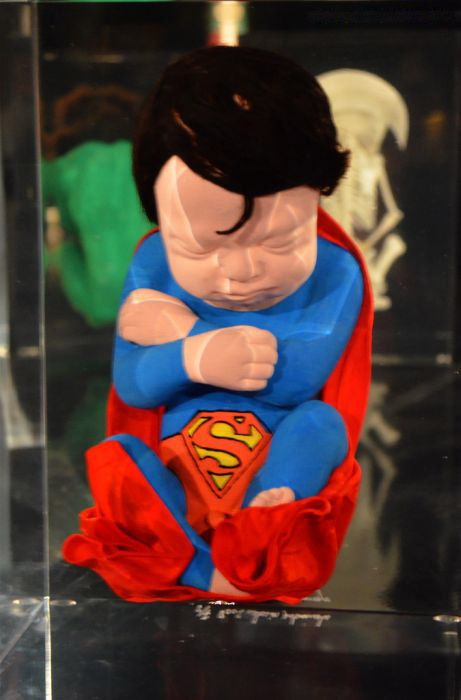 Weird Superhero Fetuses Transformations (7 pics)