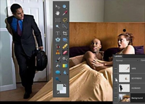 Photoshop in Real Life (10 pics)