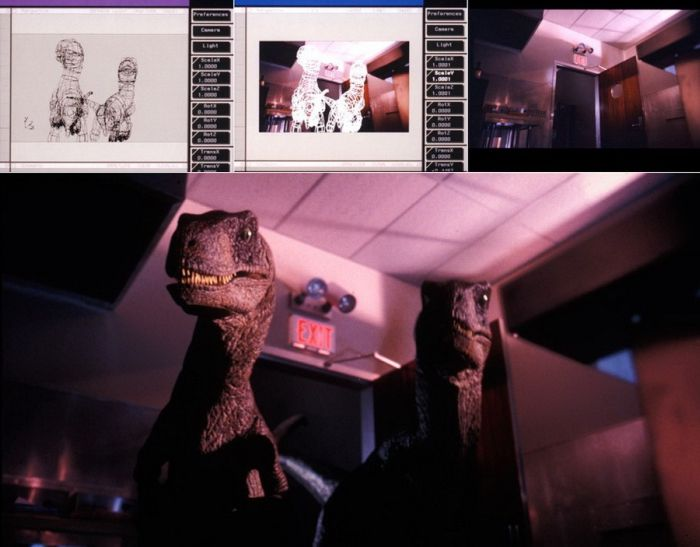 Behind the Scenes of the Famous Movies. Part 2 (59 pics)
