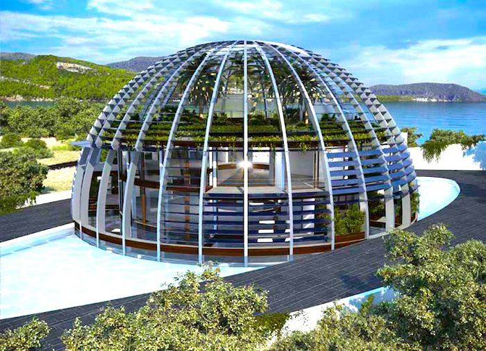 Naomi Campbell's Awesome Island Villa in Turkey (7 pics)