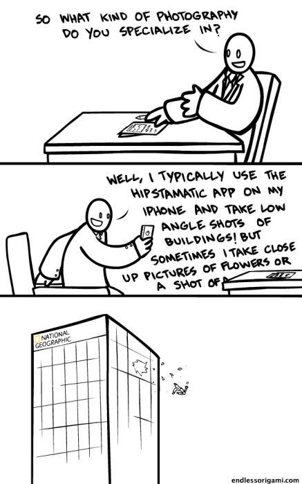 Endless Origami Comics (65 pics)