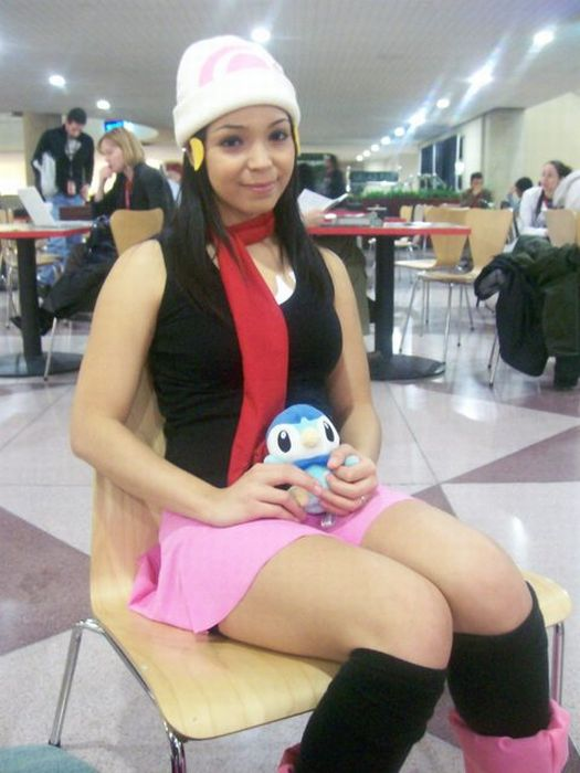 cosplay Dawn pokemon nude