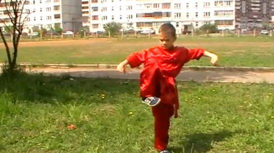 Real Life Karate Kid