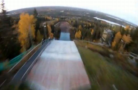 Craziest Skijump Madness