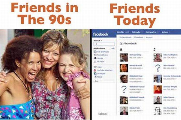 90s vs. Present Day (13 pics)