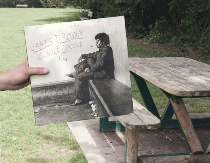 Rock N' Roll Albums Blended into Real Life (10 pics)