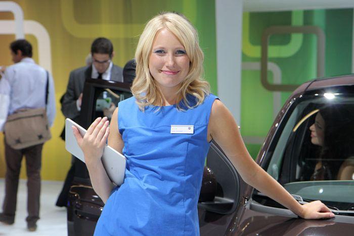 Cars and Girls of Frankfurt Auto Show (91 pics)