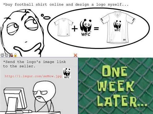 Custom Shirt Fail (2 pics)