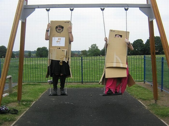 The Box People (28 pics)