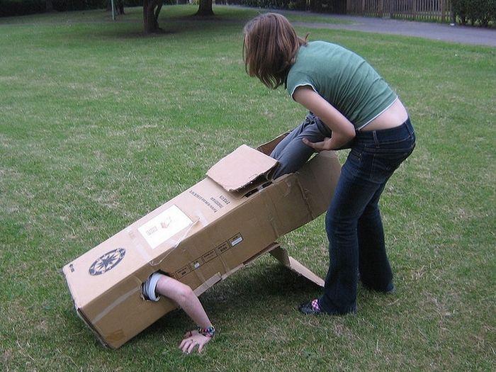 The Box People (28 pics)