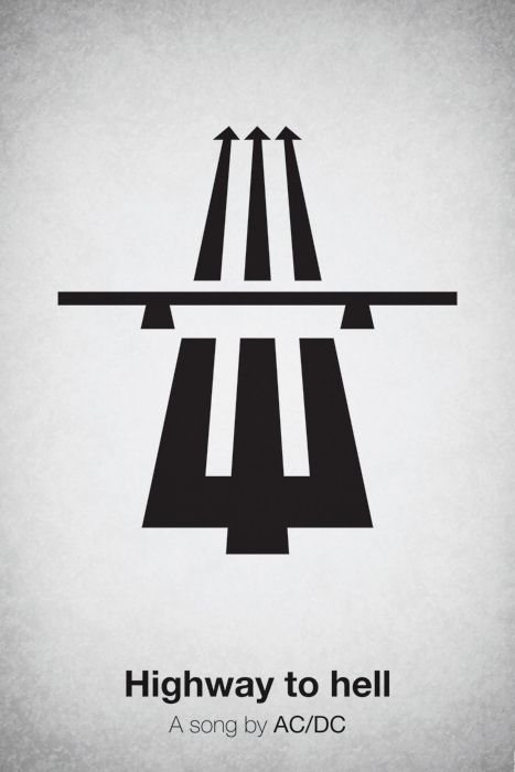 Pictogram Music Posters (25 pics)