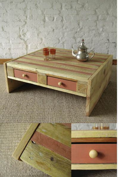 things made out of old pallets 23 pics. Black Bedroom Furniture Sets. Home Design Ideas