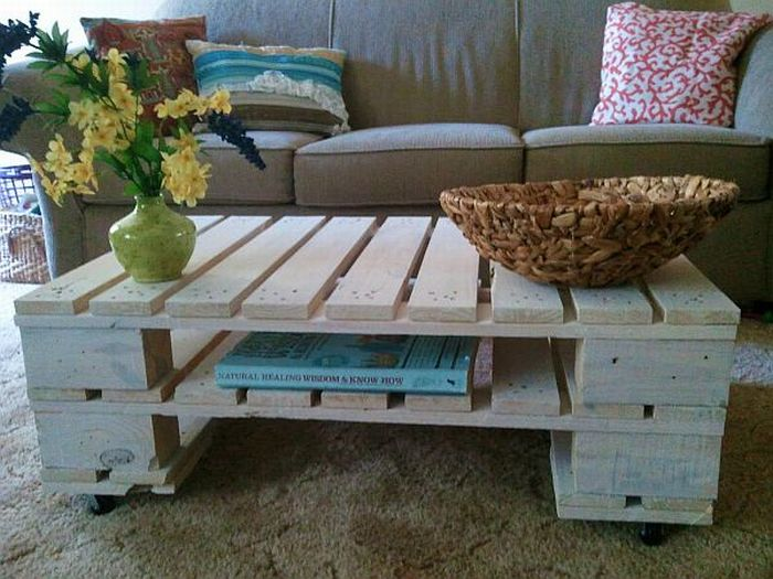 Things Made Out Of Old Pallets 23 Pics