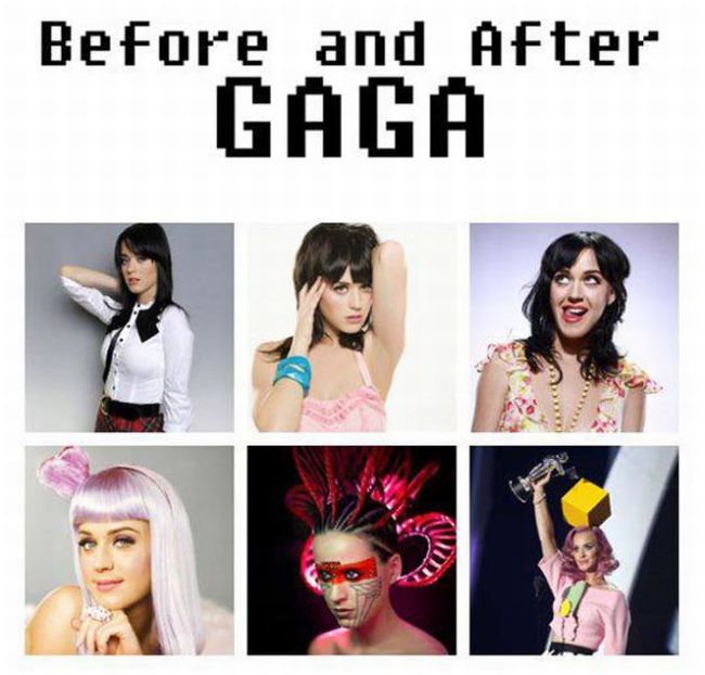 Before and After Gaga (5 pics)