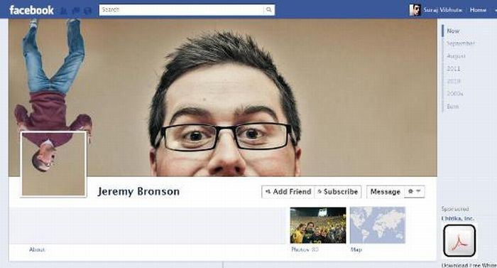 Awesome Uses Of The New Facebook Profiles Page. Part 2 (17 pics)
