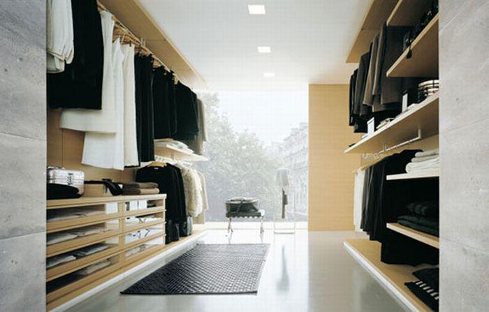 Closets (33 pics)