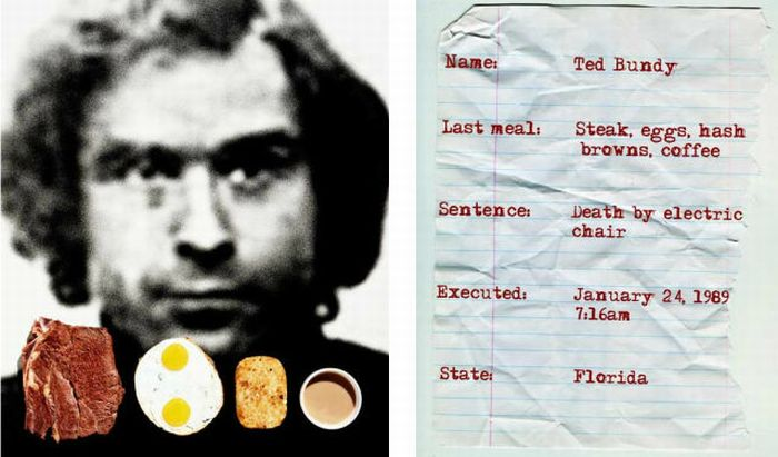 The Last Meals of Death Row Inmates (18 pics)