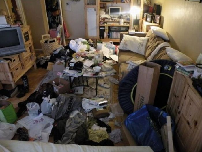 The Filthiest Apartments (25 pics)