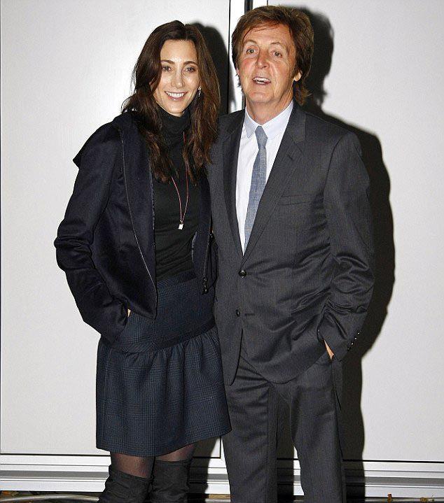 Sir Paul McCartney's New Wife Nancy Shevell (11 pics)