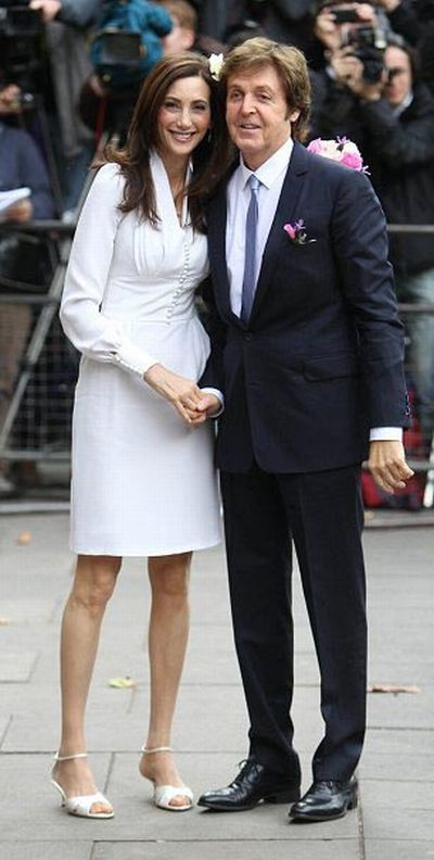 Sir Paul McCartney's New Wife Nancy Shevell (11 pics)