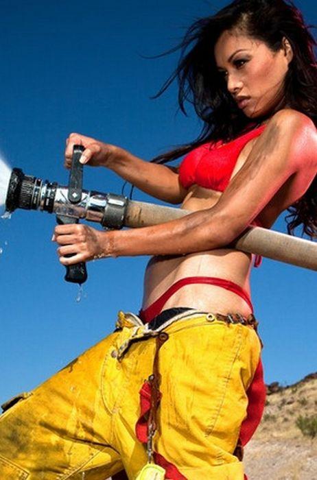 hot naked firefighter girls