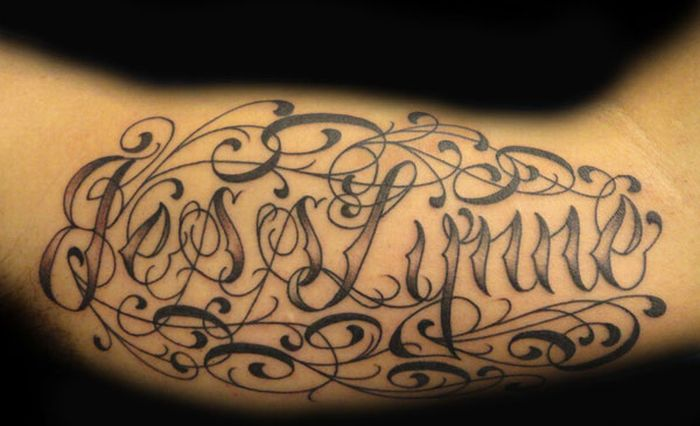 Cool Designs Using Tattoo Lettering (20 pics)