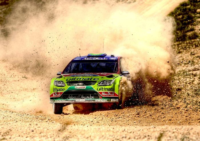 WRC Cars in HDR (17 pics)