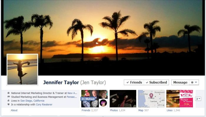Awesome Uses Of The New Facebook Profiles Page. Part 3 (34 pics)