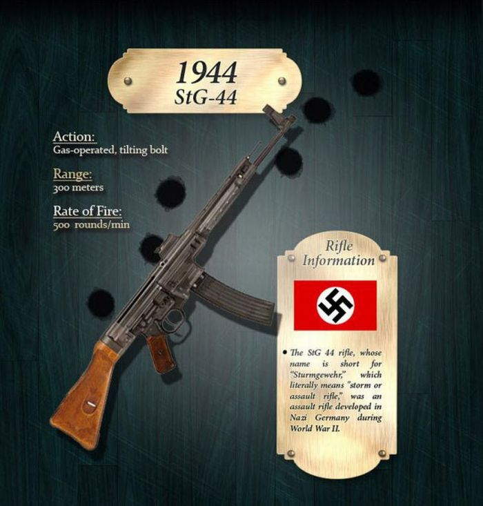 How the Rifle Evolved Through Years (18 pics)