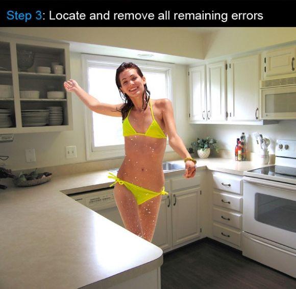 Fixing Image Errors (3 pics)