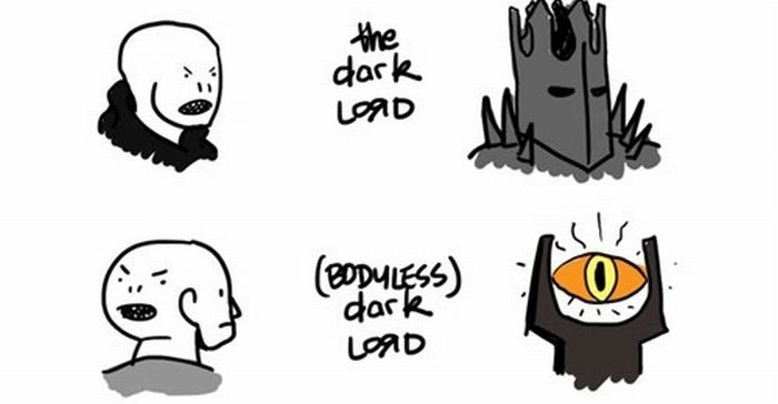 Lord of the Rings vs Harry Potter (9 pics)
