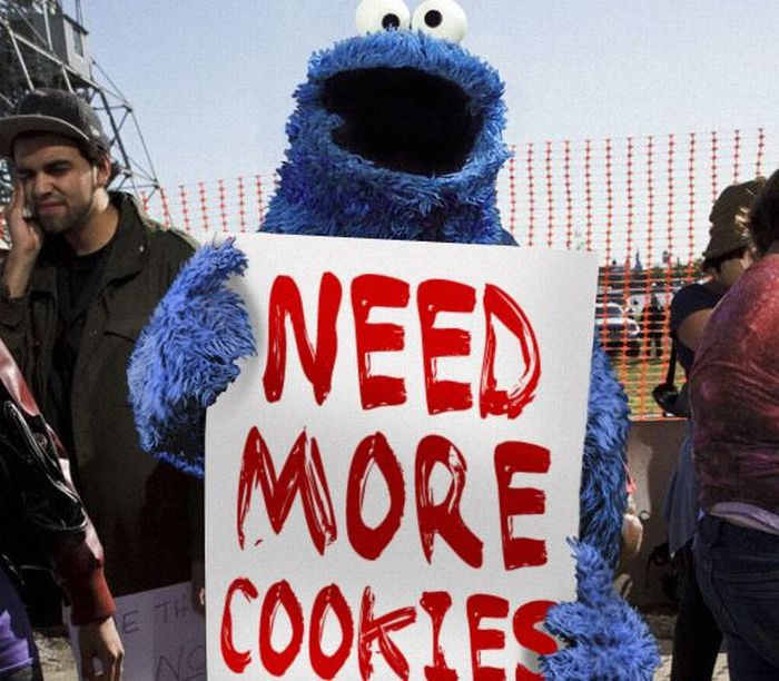 Occupy Wall Street Becomes Occupy Sesame Street (11 pics)