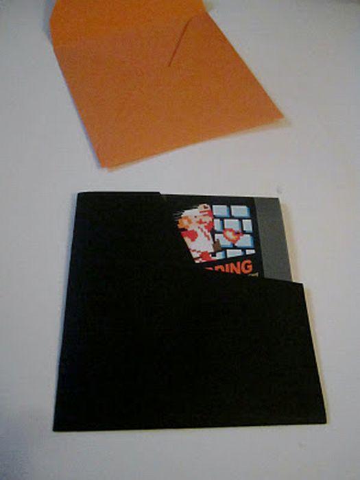 Super Mario Wedding Invitation (22 pics)