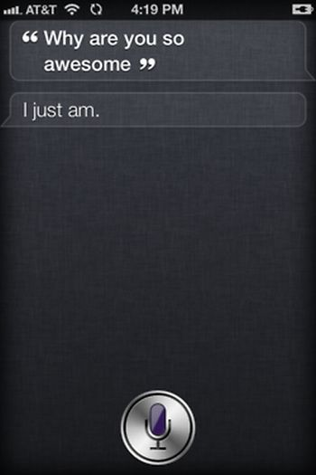 Siri in iPhone 4S (65 pics)