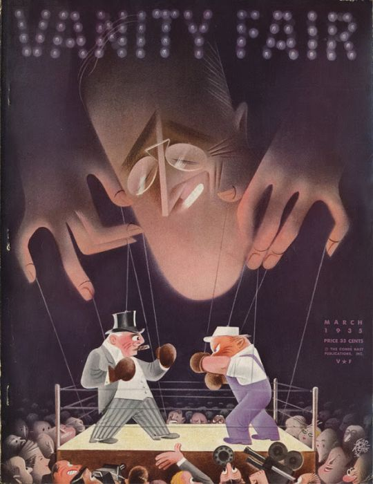 Vanity Fair Magazine Covers from the Depression (11 pics)