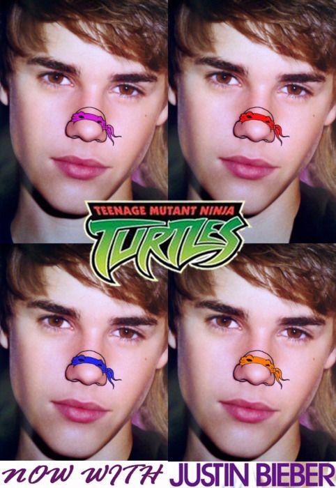 Teenage Mutant Ninja Noses (22 pics)