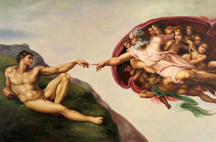 Photo Remakes of Famous Paintings (77 pics)
