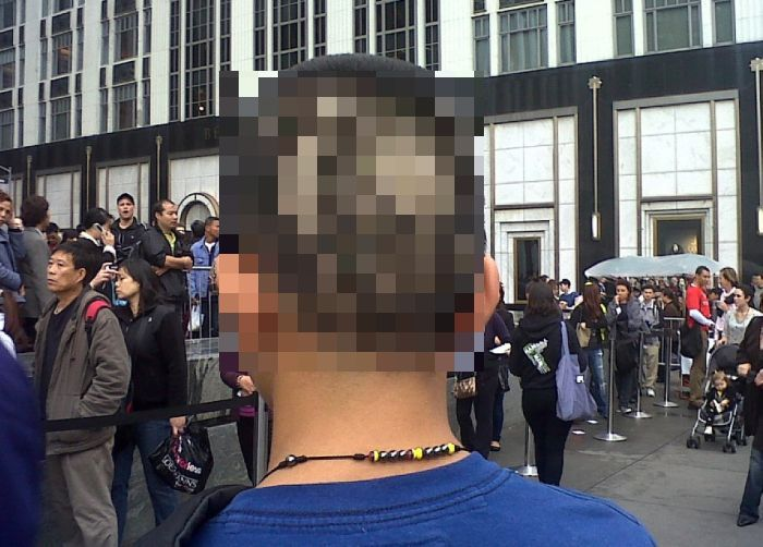 Steve Jobs Tribute Haircut (2 pics)