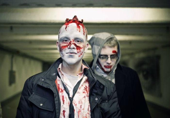 Zombie Walk in Tallinn, Estonia (62 pics)