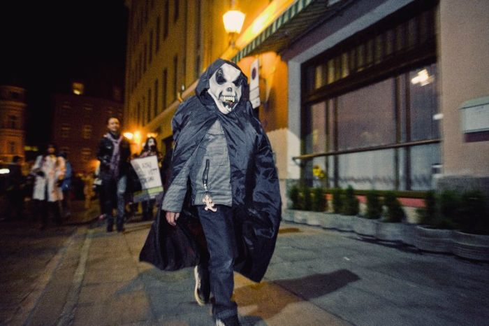 Zombie Walk in Tallinn, Estonia (62 pics)