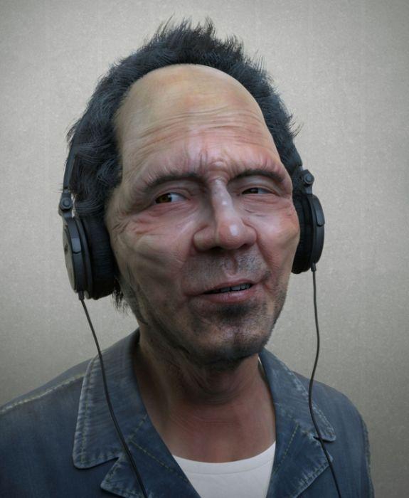 3D Portraits (25 pics)