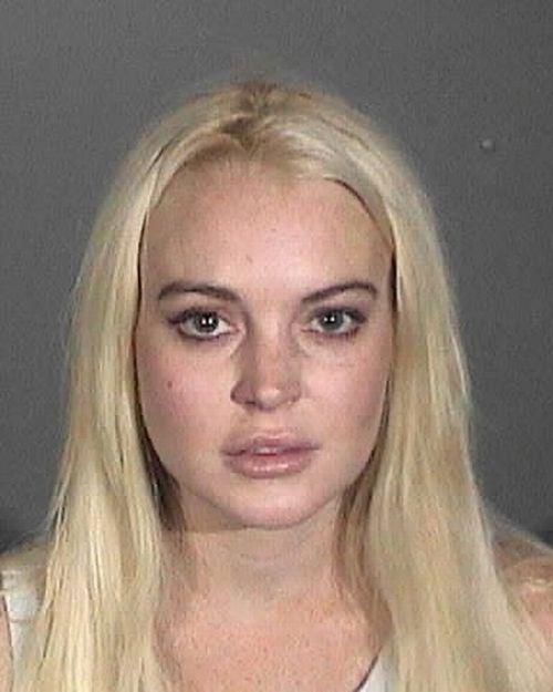 The Lindsay Lohan Mugshot Collection (5 pics)