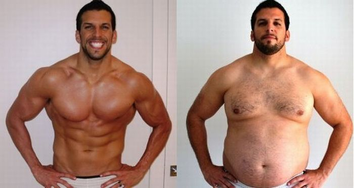 Getting Fat Before and After