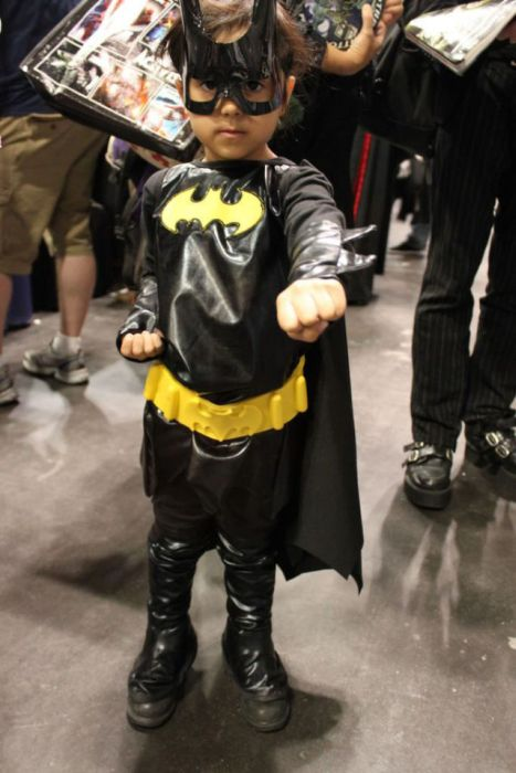 Kid Cosplayers at Comic Con (23 pics)