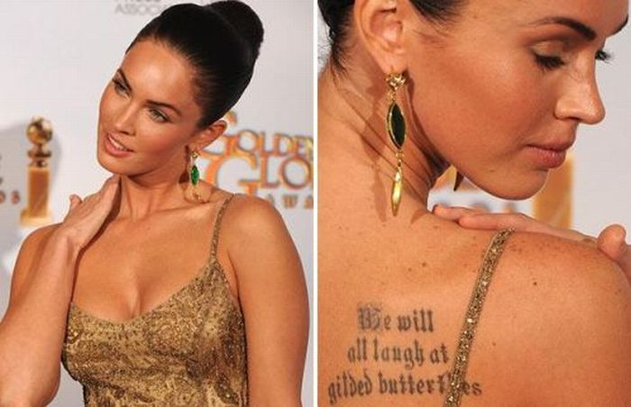 Worst Celebrity Tattoos (30 pics)