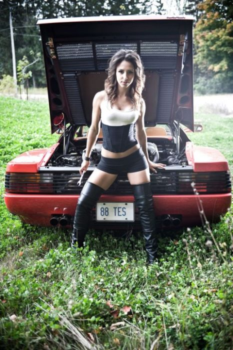 Hot Girls and Exotic Cars (20 pics)