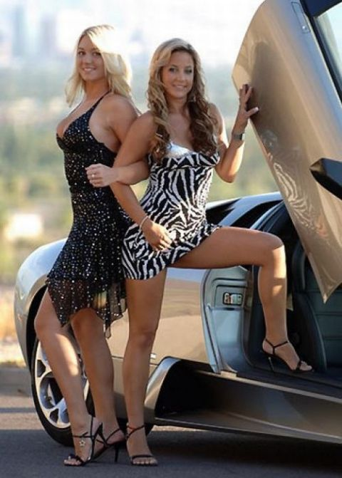 Hot Girls And Exotic Cars 20 Pics-5206